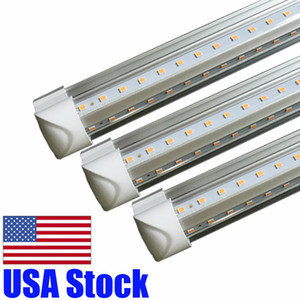 Wholesale lamps shades resale online - T8 Led Tube ft V Shade Integrated Fluorescent Led Light mm W Super Bright Degree Beam Angle Lamp Top Sales