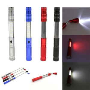 Wholesale Pickup Light Auto Repair LED Work Light With Magnet Antenna Lights Multi function Warning Bars Picker Magnet