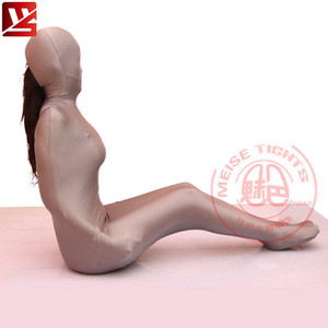 MEISE Cosplay Lycra Women Sexy Full Body Pantyhose Tights Cocoon Body Stockings Catsuit Bodysuit Erotic Lingerie Gay Plus Size LY191222