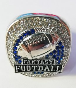Personal collection 2019 Fantasy Football Nation Championship Ring with Collector's Display Case