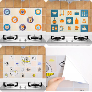 Wholesale Anti oil Wall Stickers High temperature Anti oil paste kitchen Self adhesive foil waterproof bathroom tile wall stickers cm
