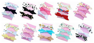 Wholesale 50pcs girl baby headwear cotton Turban Twist Hair band Head wrap Twisted Knot Soft stripe Headband Polka dot Headwrap accessories FD6554