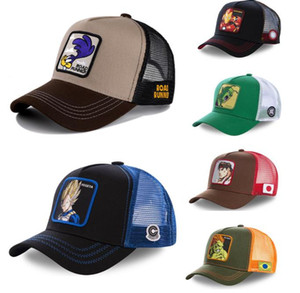 DRAGON BALL Snapback Cap Cotton Baseball Cap Men Women Hip Hop Dad Mesh Hat Trucker Dropshipping