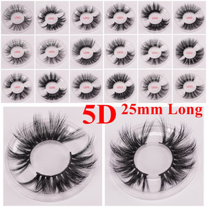 7b01fac2a06 Long Dramatic Mink Lashes 3D Mink Eyelash 5D 25mm Long Thick Mink Lashes  Handmade False Eyelash Eye Makeup Maquiagem LD Series 15 Styles