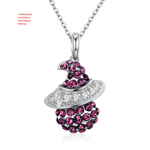 Wholesale Silver Necklace Women's Flower Red Mexican Women's Solitaire Silver Fashion Jewelry Necklaces Chain Necklace For Women 925 Silver Jewelry