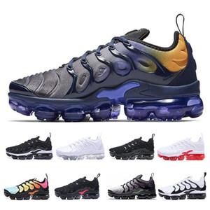 Big Size Us 13 Tn Plus Running Shoes Reverse Sunset All White Black Red Mens Trainers Luxury Violet Designer Men Sports Sneakers Eur 36-47