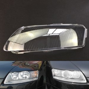 Wholesale For Audi A6L 2006 2007 2008 2009 2010 2011 Transparent Car Headlight Headlamp Clear Lens Front Auto Shell Cover