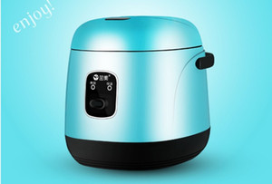 Wholesale cooks rice cooker resale online - 1 L Mini electric Rice Cooker V Household Student Dormitory Cooking Portable cooking pot for Business traveler working single people