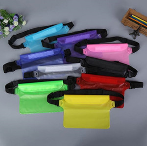 Wholesale Universal Waist Pack Waterproof Pouch Case Water Proof Dry Bag Underwater Pocket Cover colors For Cellphone mobile phone