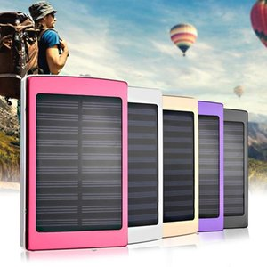 Wholesale Portable Size mAh Large Capacity Solar Panel Power Bank Outdoor External Battery Charger for Smartphones Promotions New hot