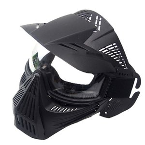 Wholesale Lightweight Breathable CS Outdoor Tactical PC Lens Mask CS Paintball Mask Outdoor Party Protective