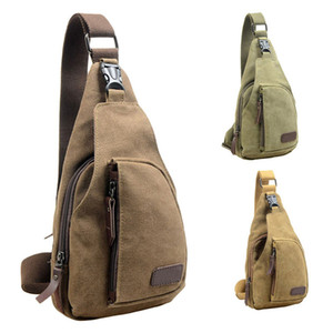 Wholesale Outdoor Sports Casual Canvas Unbalance Cross body Sling Shoulder Multifunction Men Cross body bag Gym Fitness Bags for Men