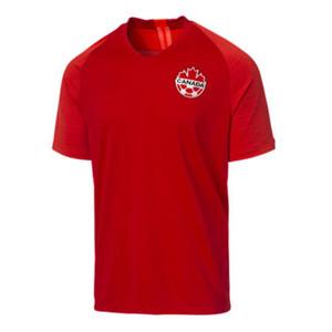 S-4XL 2019 Canada soccer jersey Gold Cup 2019 Camisetas 19 20 Canada national team Soccer Jersey MEN HOILETT football shirt camisa de futbol