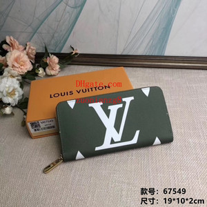 Wholesale 2019 New handbags purses Arrivals fashion women s wallet high quality Casual retro Delicate soft Splicing design