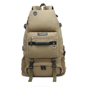 Wholesale Outdoor Sports Hiking Camping Trekking Tactical Backpack Mlitary Rucksack Hunting Bag Handbag Army Travel Back pack T191104