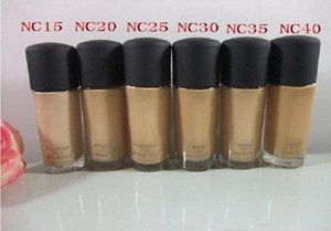 Wholesale best concealer resale online - Fluid Liquid Foundation NC Colors BB CREAM BEST Makeup CONCEALER ML