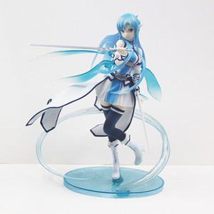 Wholesale Sword Art Online Yuuki Asuna Water Spirit sexy Girl Figure PVC Action Figures Toys Anime Figure Toys For Kids Children Christmas