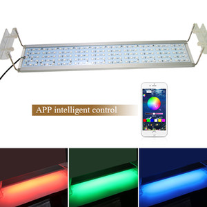 Wholesale led marine aquarium for sale - Group buy RGB Marine Aquarium Led Lighting Fish Tank LED Aquarium Light Clip Bracket Lamps For Lights For Fish Tank CM
