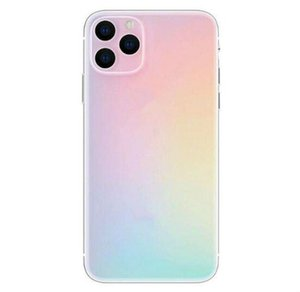 Wholesale 6.5 inch All Screen HD+ Goophone 11pro Max 3G WCDMA Quad Core MTK6580 show 16GB+512GB Android 8.0 Face ID Wireless Charge earpods