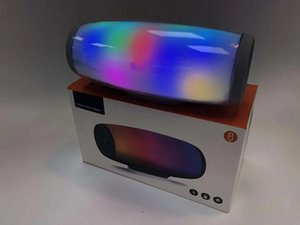 Wholesale New Z11 high quality wireless Bluetooth speaker Color LED light Subwoofer JBL Bluetooth portable speaker HIFI provides retail box