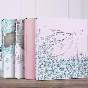 Wholesale Large Family Photo Albums Stamp Collecting Children Christmas Photo Album Wedding Baby Gift For Boyfriend Fotoboek ABY025 SH190910