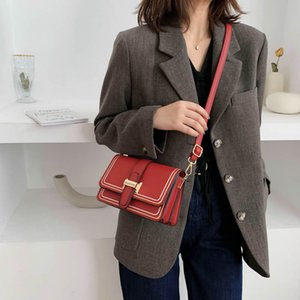 Women's Brand Handbag Luxury Designer Crossbody Bags for Women Female Vintage shoulder Bag Casual Rectangle Shape Messenger Bag With Belt on Sale
