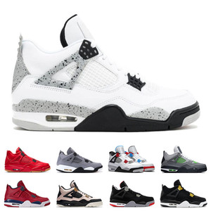 Wholesale 2020 Air Retro jordan basketball shoes mens NEON Cool Grey What The FIBA WINGS SILT RED sports sneakers trainers size