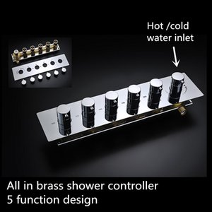 Wholesale New design function shower water faucet brass shower valve shower controller