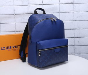 Wholesale Backpack fashion bag men and women striped print backpack soft leather authentic high quality canvas school Zaino outdoor Pra da3028855