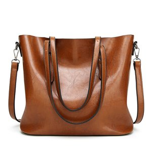 European and American retro style classical women PU leather bag high quality big Bags Shoulder Bags Handbag cross bags totes free shipping on Sale