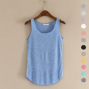 Wholesale HOT summer Fitness Tank Top New T Shirt Plus Size Loose Model Women T shirt Cotton O neck Slim Tops Fashion Woman Clothes