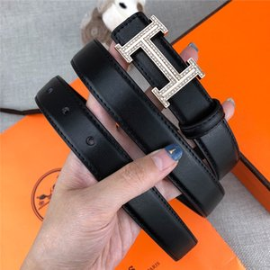Wholesale Designer belt brand lady fashion casual belt black coffee belt body full diamond buckle fashion jeans belts width cm