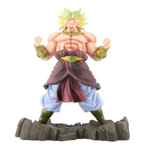 Dragon Ball Exceed Saiya People Broly Action Figure Plus Size 22 Cm Y19062901 on Sale