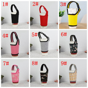 Neoprene Water Bottle Insulated Cover Bag Holder Strap Pouch Carrier Warm Heat Insulation Water Cup Bags Mug Cover for 700c KKA6879 p