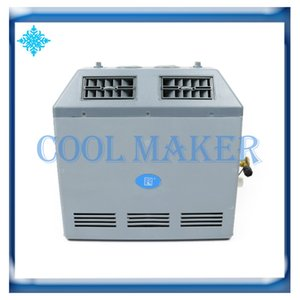 Auto excavator harvester truck bus car air conditioner refrigeration conversion evaporator assembly 505 12V 24V on Sale