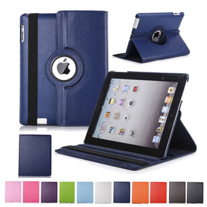 Wholesale 360 Rotating Flip PU Leather Stand Case For iPad Pro Mini Samsung Tab P200 T510 T515 T720 T590 T860 T290