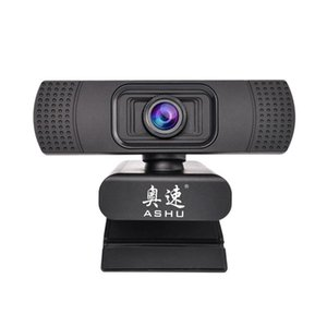 Wholesale ASHU Webcam P USB Web Digital Camera with Microphone Clip on Full HD x1080P Megapixel CMOS Camera Web Cam