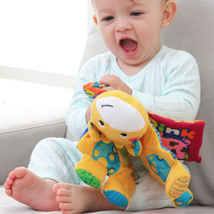 Baby's early teaching animal doll Cloth's toy kid puzzle toys Mater Baby multifunctional toys Toys for young children Wholesale 0-3 years