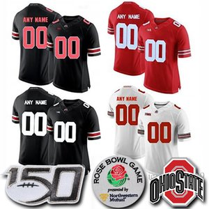Custom Ohio State Buckeyes Dwayne Haskins Jr. Jersey Fields George Dobbins Red OSU College Football Jerseys on Sale