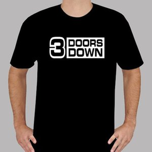 Wholesale New Doors Down American Rock Logo Men s Black T Shirt Size S to XL