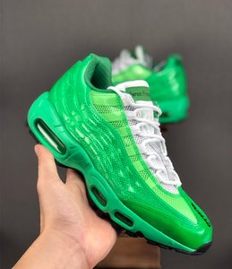 Wholesale Designer Heron Preston x By You Cushion s Neon Green sky blue Running Shoe Fashion Men Women Buy You s Causal sneaker Shoes