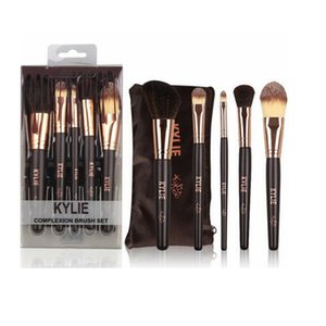 Wholesale Makeup Brushes Liquid Foundation Eyeshadow Brush High Tech Make Up Tools Face cosmetics Makup Brushes Set With Bag HOT GGA1885