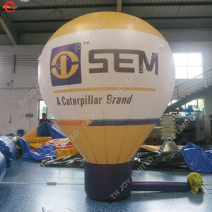 Wholesale big air balloon for sale - Group buy shopping mall roof advertising Inflatable ground Balloon rooftop Inflatable advertising cold air big balloon for exhibition or promotion