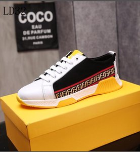Wholesale 2019 NEW hot FENDI fashion shoes men and women Wave Runner running men s super training sanitation casual shoes with original box
