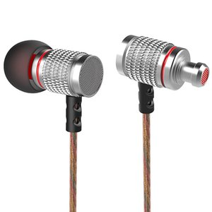 KZ EDR2 Mega Bass In-Ear HiFi Earphones with Microphone Support Handsfree Calls 3.5mm Gold Plated Jack 1.2m Length Cord