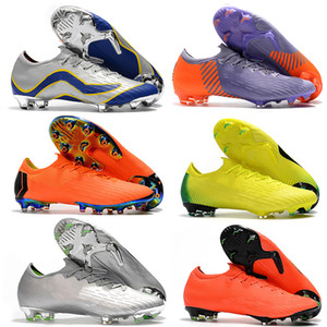 Wholesale cr7 sock football boots for sale - Group buy Mens Outdoor Mercurial Vapors XII Elite Superfly CR7 FG Soccer Shoes Cristiano Ronaldo Socks Football Cleats Socks Neymar Soccer Boots