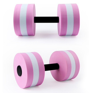 Wholesale Water yoga EVA dumbbell men and women aquatic aerobics fitness exercise equipment swimming floating barbell 111 gram