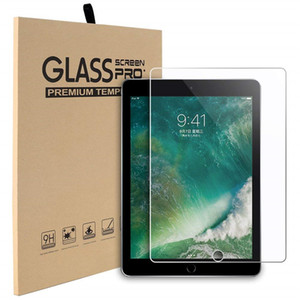 Wholesale For iPad Air 9.7 Tempered Glass Screen Protector For New iPad Pro 11 12.9 2018 10.5 2019 mini 4 Samsung Tab A2 T595