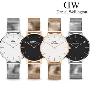 Wholesale Top casual Japanese quartz watch mm and mm mm rose gold stainless steel men s quartz watch net with ultra thin clock ladies watch