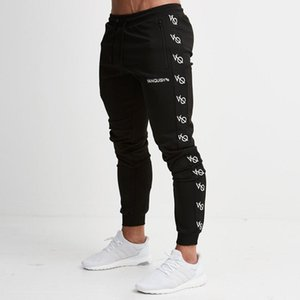 Wholesale Autumn Winter Men Jogger Brand Sweatpants Man Running Sports Workout Training Trousers Male Gym Fitness Bodybuilding Slim Pants